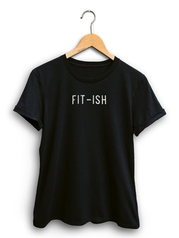 Fit Ish Women's Black Shirt