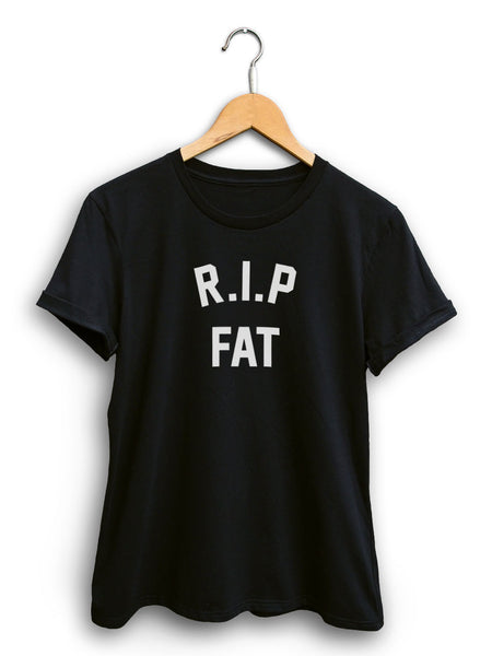 Rip Fat Women's Black Shirt