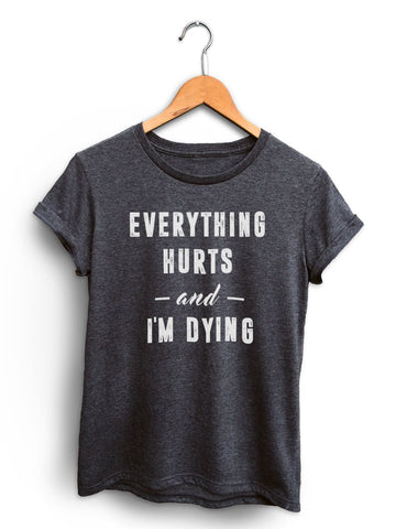 Every Workout Counts Women's Dark Heather Gray Shirt