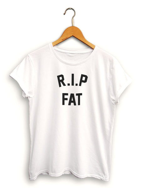 Rip Fat Women's White Shirt