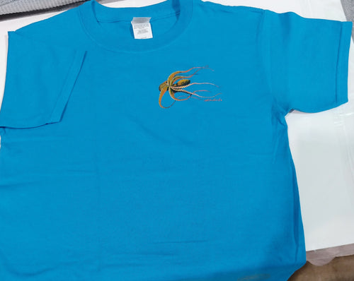 Octopus Kid's Short Sleeve Crewneck T-Shirt