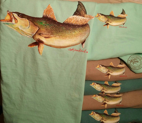 Trout Short Sleeve Crewneck T-Shirt