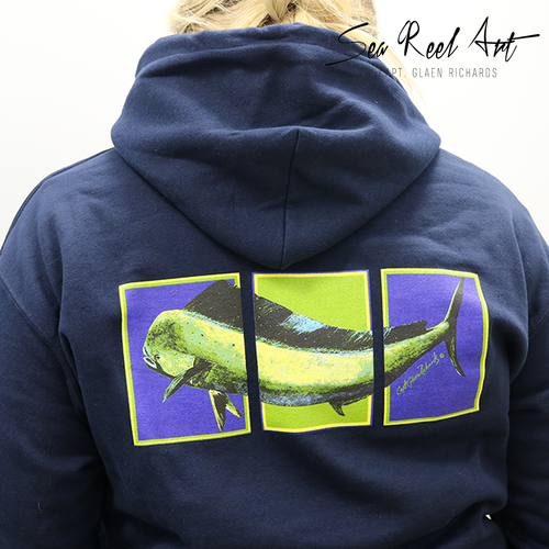 Bull Dolphin Pull Over Sweatshirt