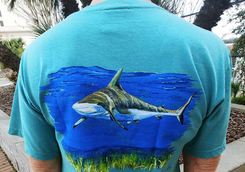 Bull Shark Short Sleeve Crewneck T-Shirt
