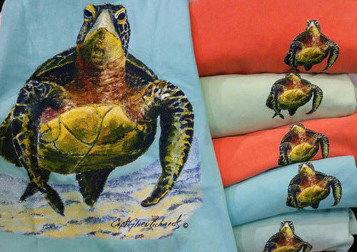 Turtle Long Sleeve Crewneck T-Shirt