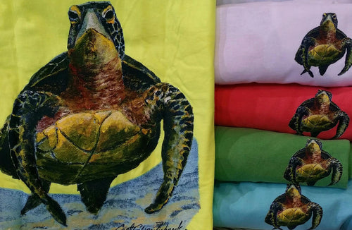 Turtle Short Sleeve Crewneck T-Shirt