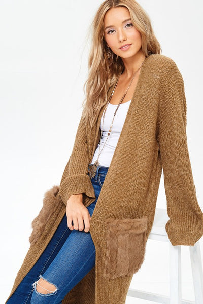 Bear Hug Cardigan Sweater