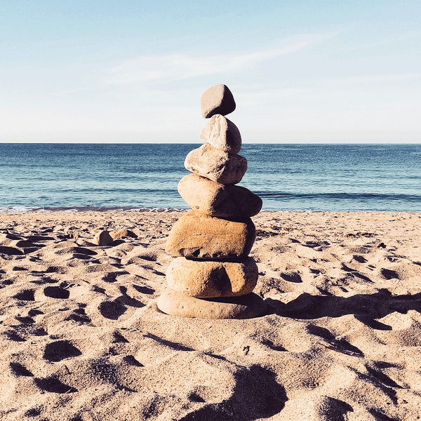 Ocean with rock tower-The 3 parts of the detoxify cleanse are the first steps in achieving your health goals