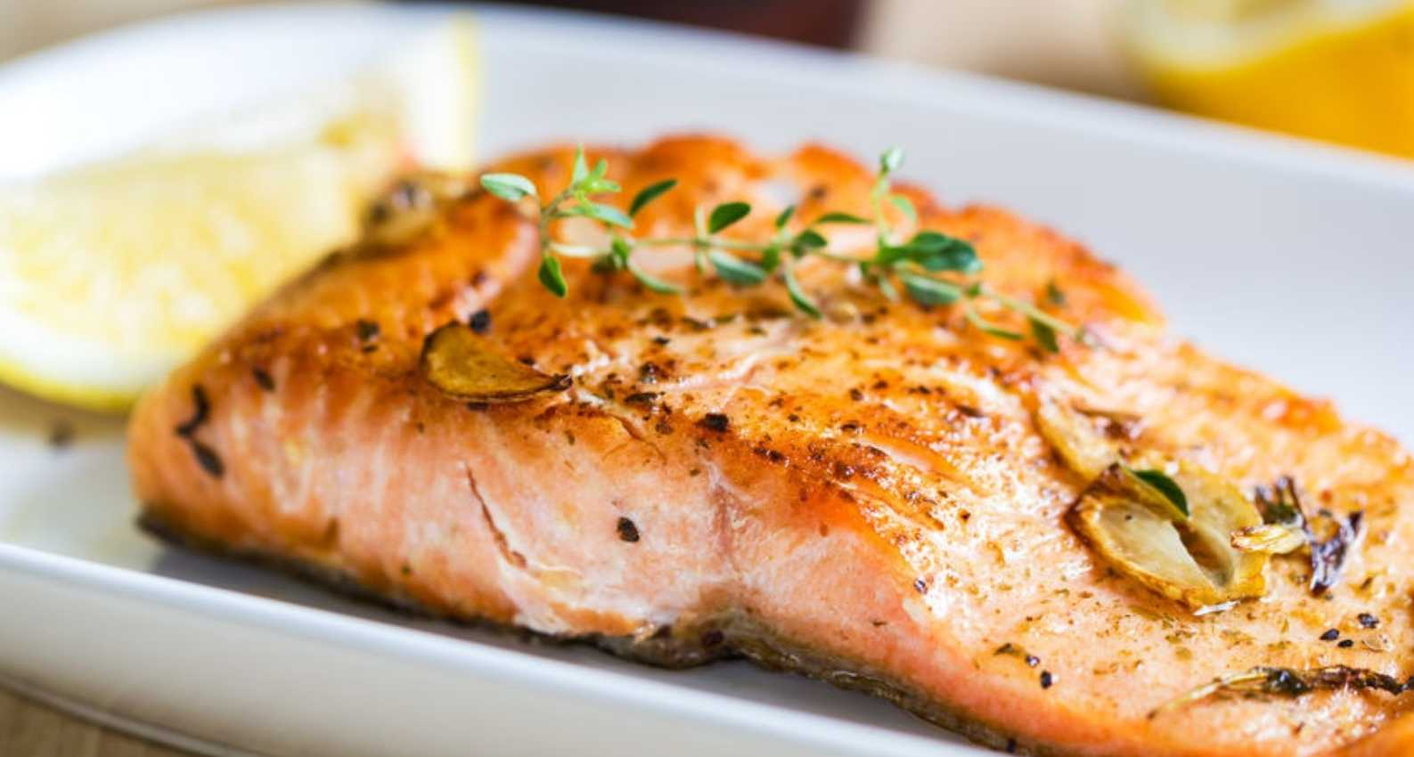 Fatty fish are a rich source of EPA and DHA, omega-3 fatty acids known to reduce inflammation.