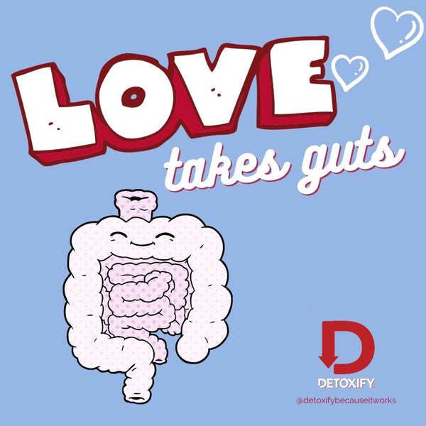 Love takes guts.