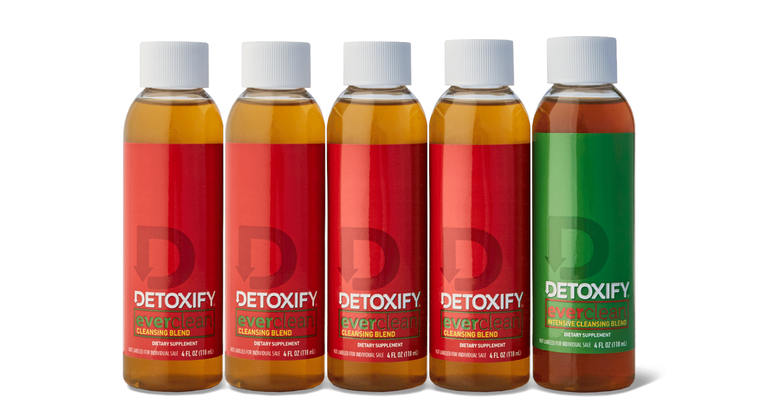 Detoxify Ever Clean is our five-day, long-term herbal cleanse.