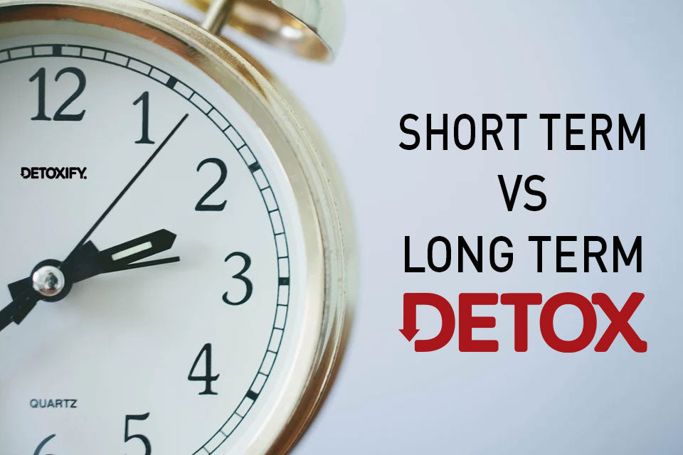 short term vs long term detox