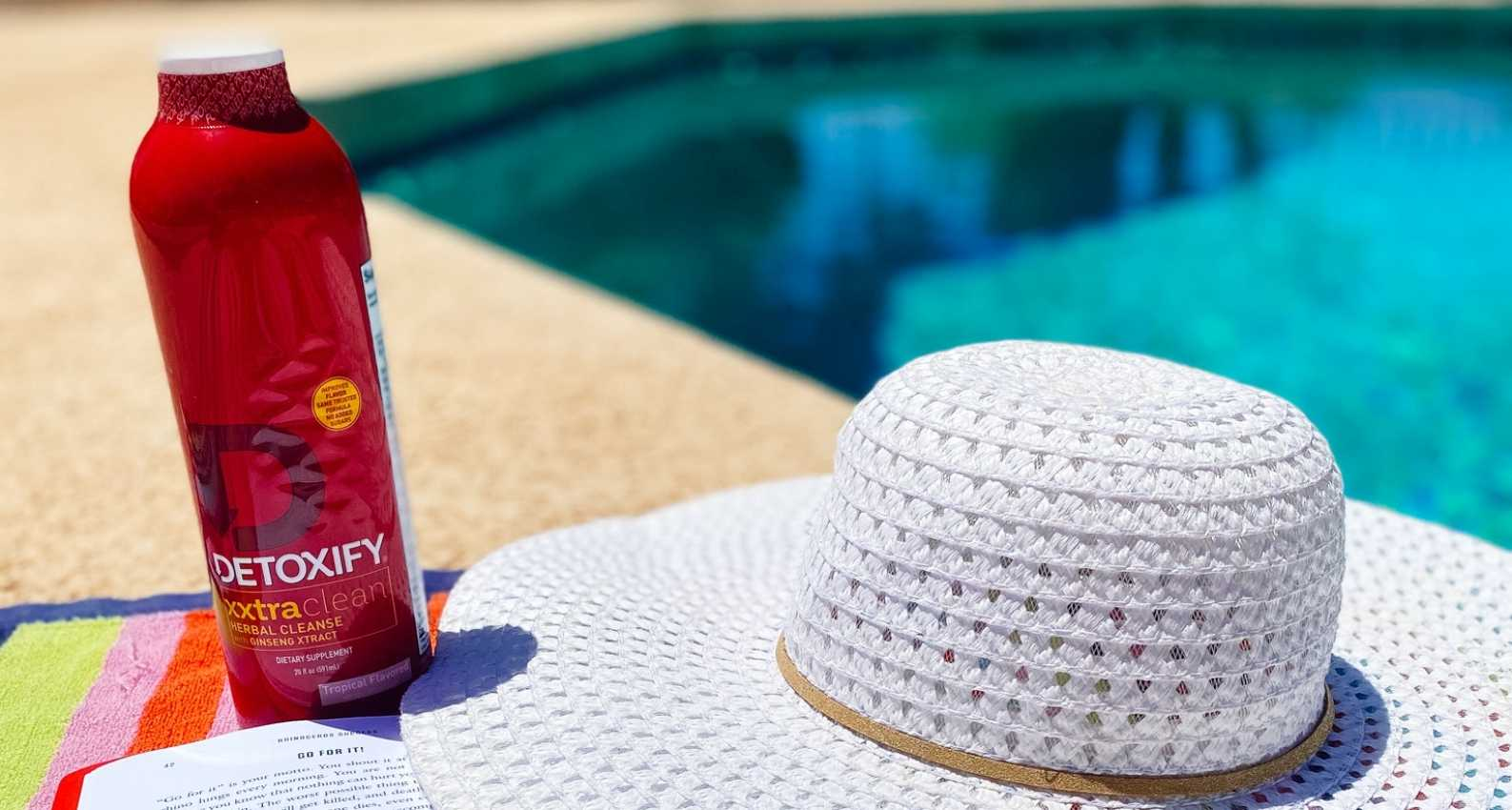 Detoxify XXtra Clean support healthy, sustained energy while reducing feelings of stress and improving mood -- for a very good summer.