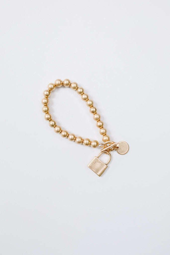 Charmed, I'm Sure Bracelet in Gold - Everest & Co.