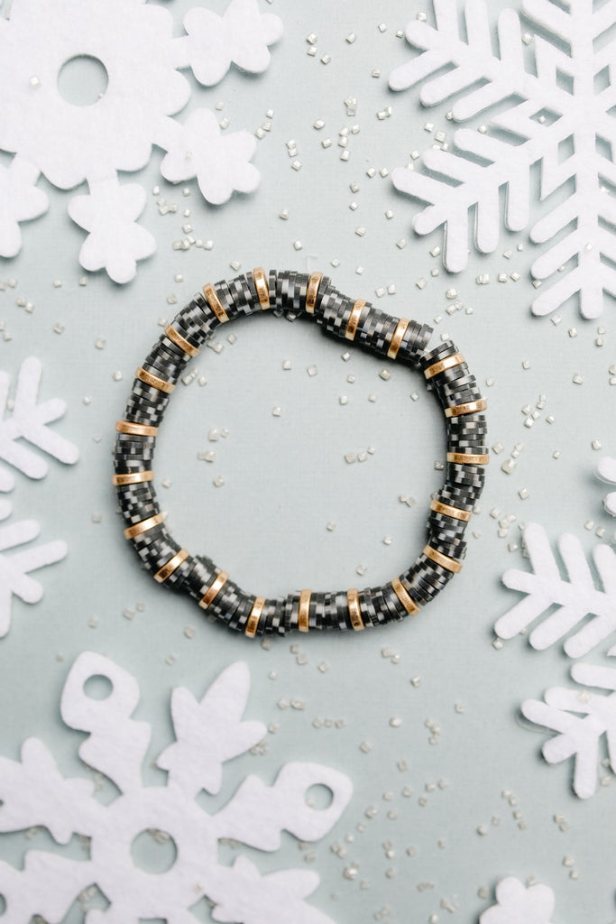 Stocking Stuffer Bracelet in Black - Everest & Co.