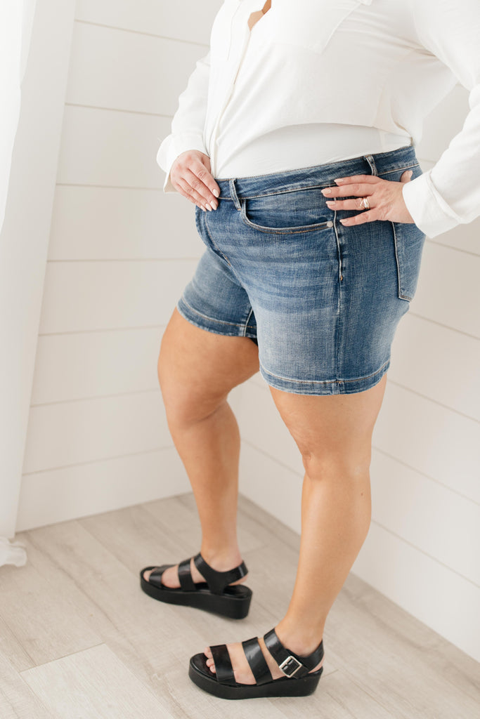 Bring On Spring Denim Shorts - Everest & Co.