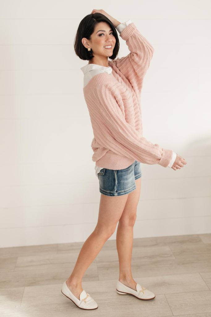 Cozy and Chic Dressed in Pink - Everest & Co.