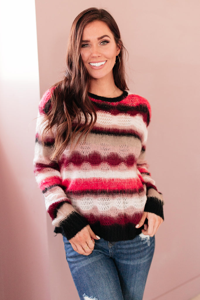 Different Shades Of Holidays Sweater - Everest & Co.