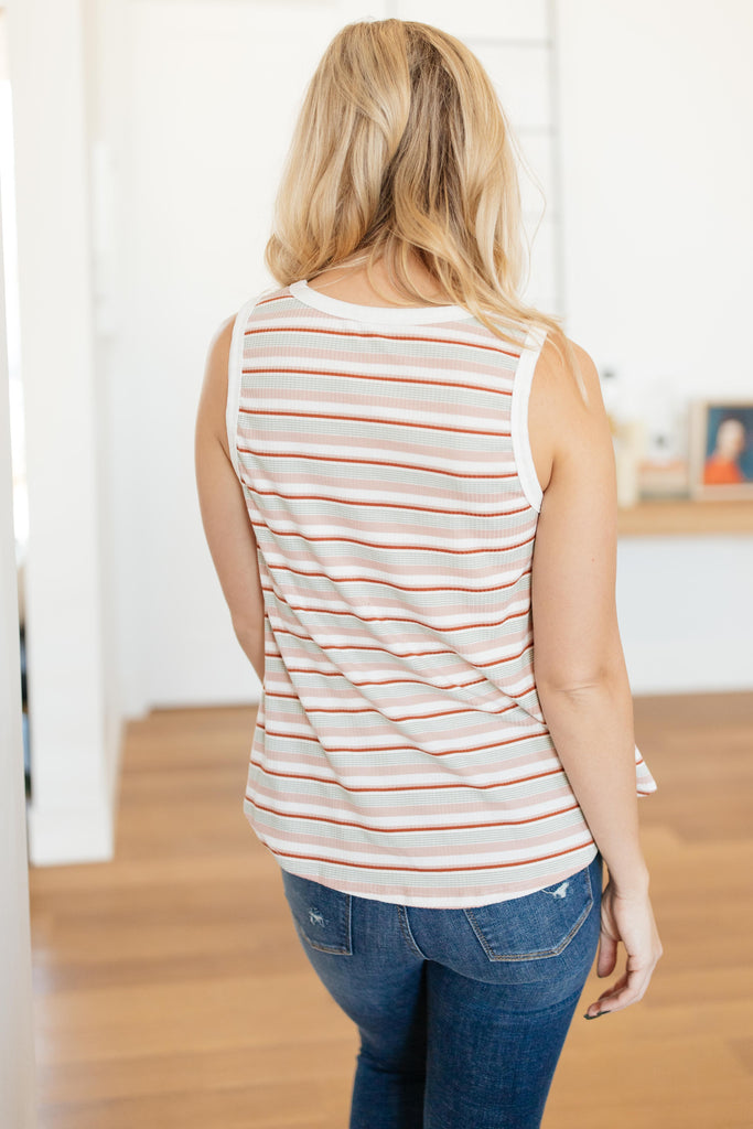 Emery Striped Tank - Everest & Co.