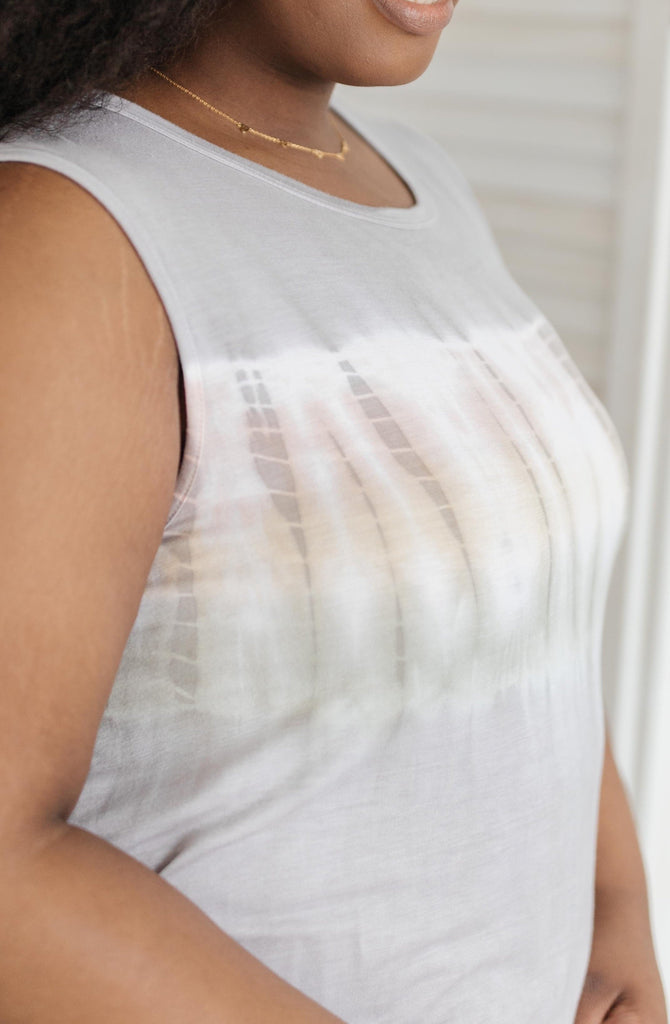 Jane Marie Tie Dye Tank - Everest & Co.