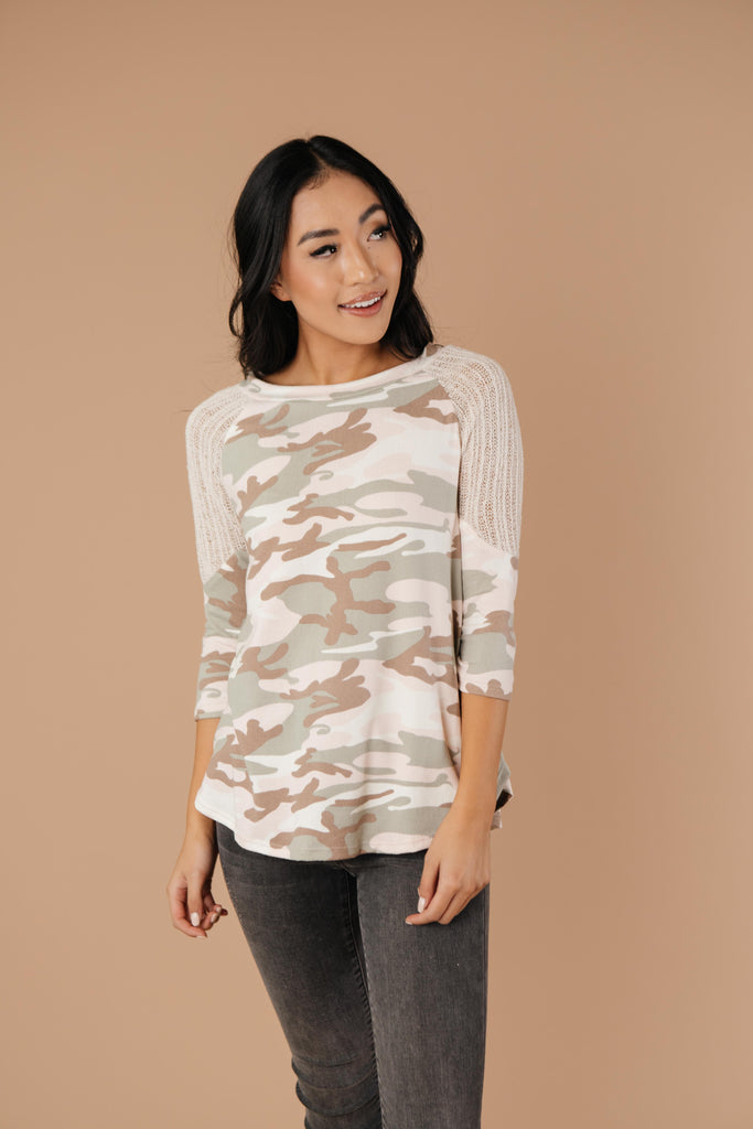 Not So Active Duty Camo Top - Everest & Co.
