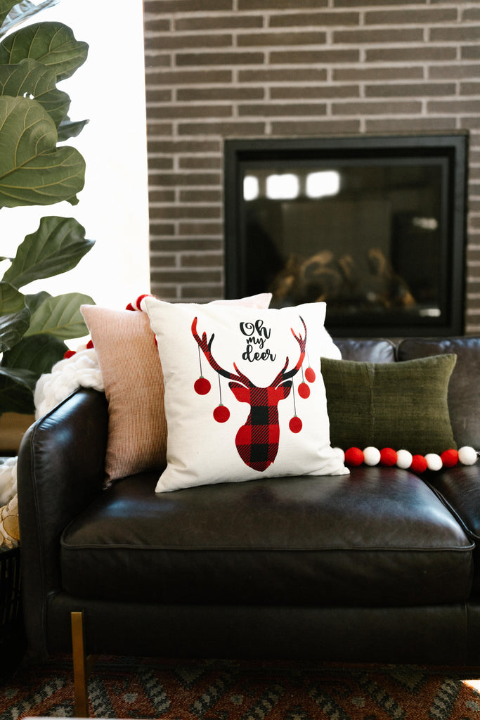 Oh My Deer Pillow Case - Everest & Co.