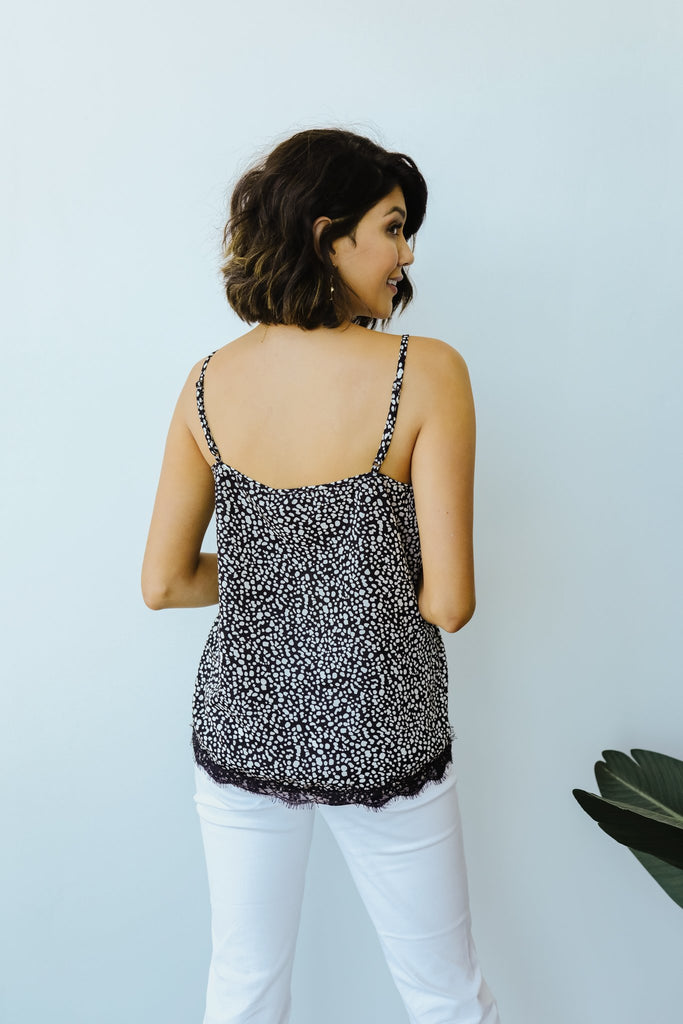 Spot Of Lace Cami - Everest & Co.