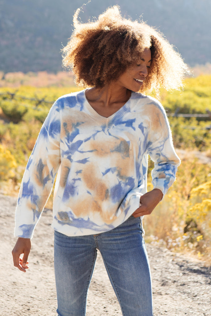 Tasha Tie Dyed Top - Everest & Co.