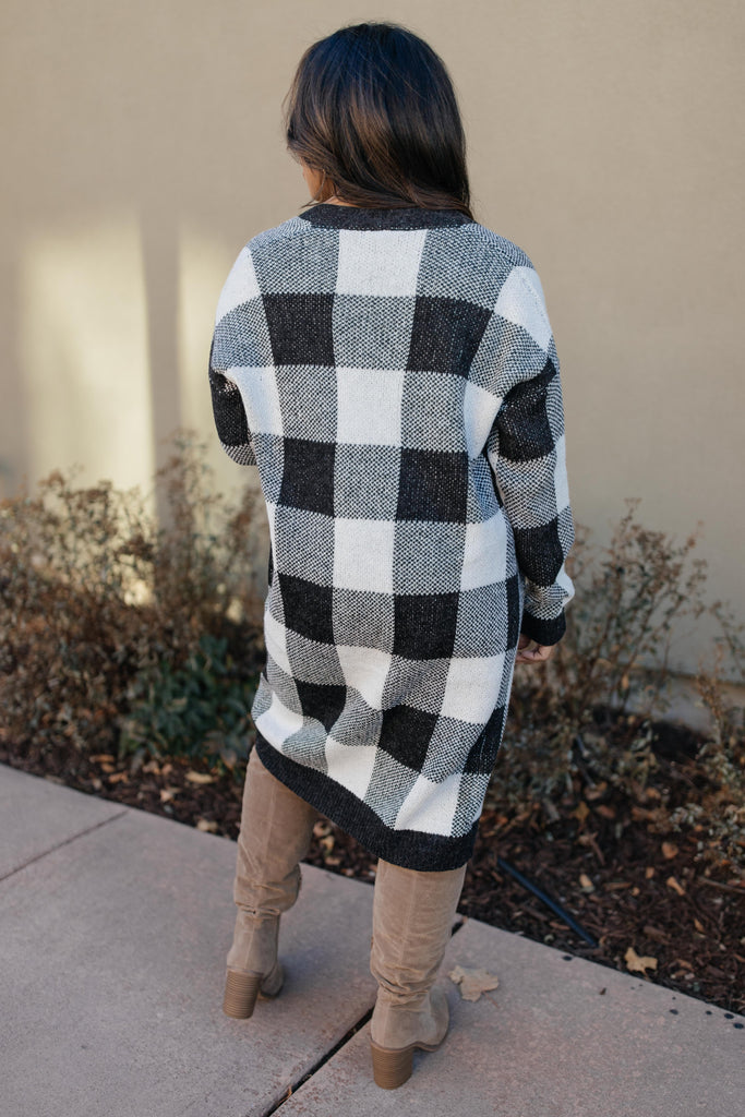 The Checkmate Cardigan - Everest & Co.