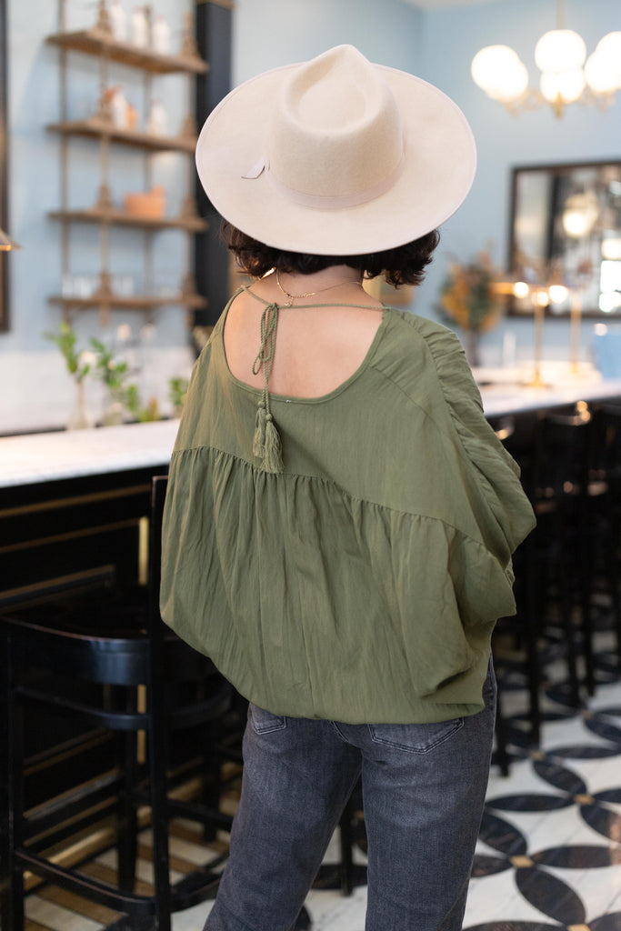 Very Viridescent Blouse - Everest & Co.