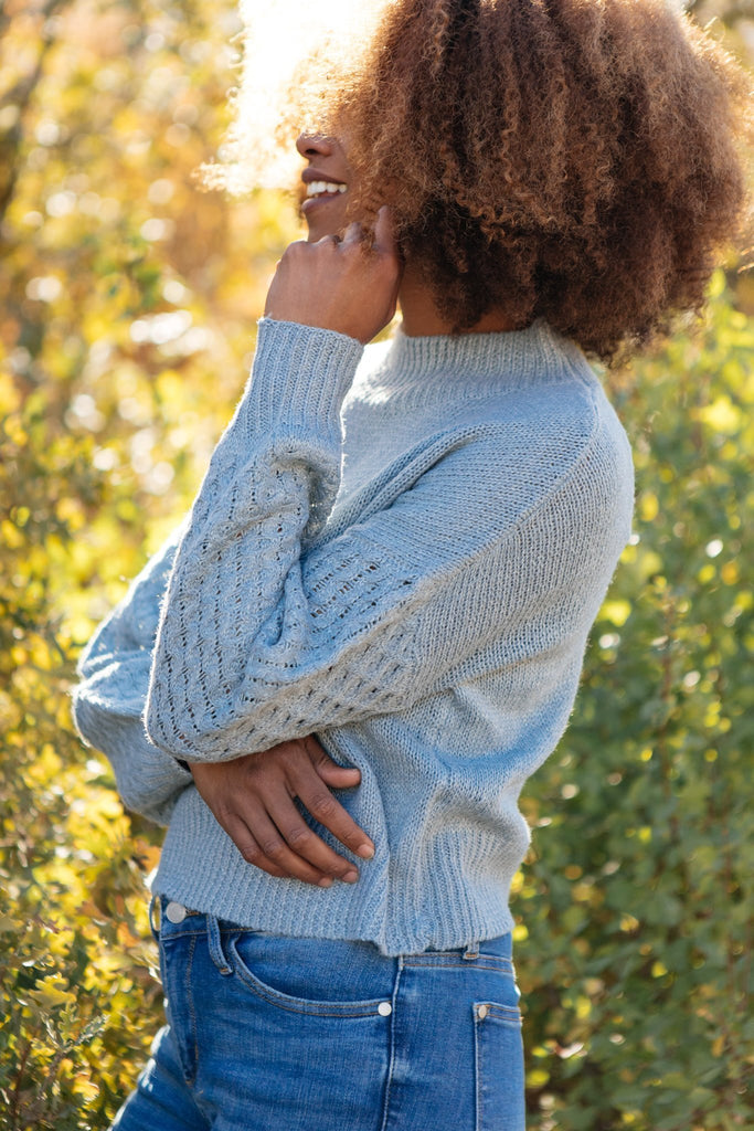 Wear Your Details On Your Sleeve Sweater - Everest & Co.