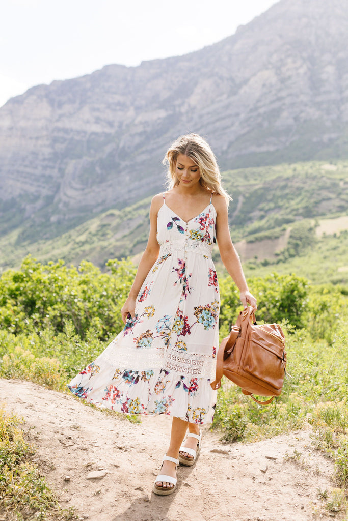 A Little Romance Midi Dress - Everest & Co.