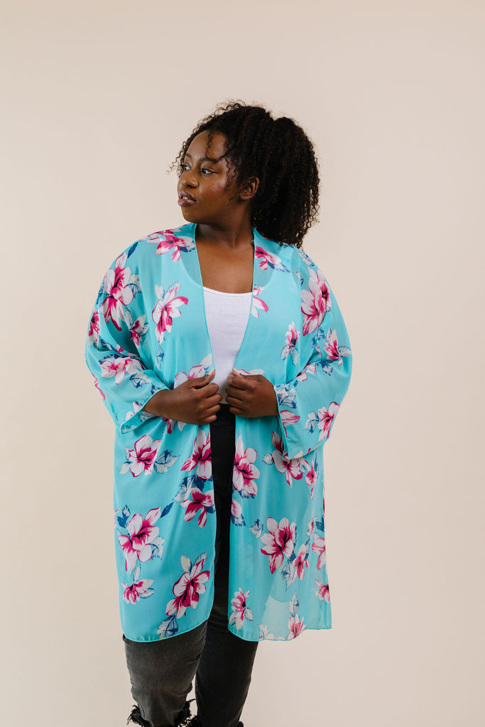 Barely There Chiffon Kimono - Everest & Co.
