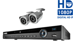 Lorex IP camera system with 2K HD security cameras and an 8-channel NVR Includes 4 Cameras