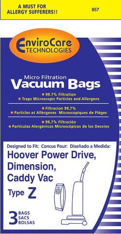 Hoover Vacuum Bag Type Z