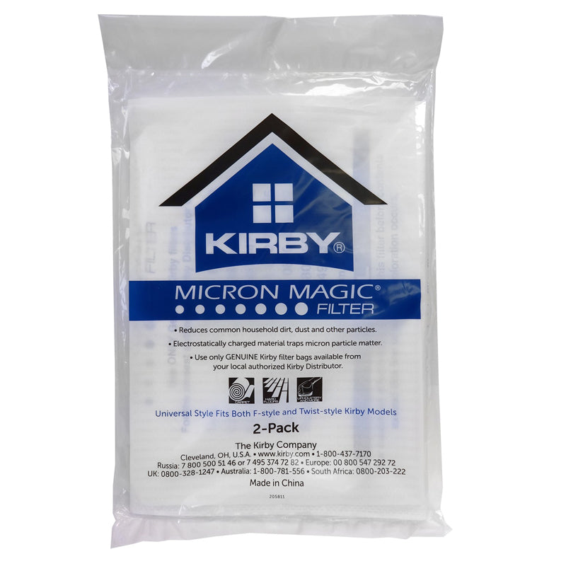 Kirby Allergen Cloth Universal Bags 2pk