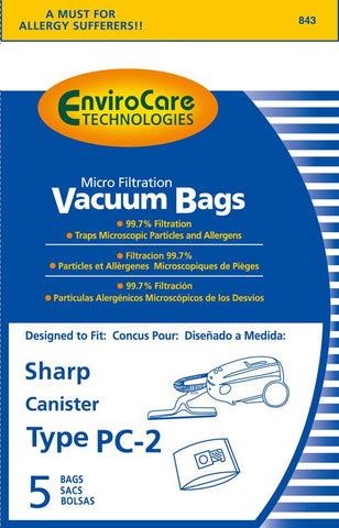 Sharp Vacuum Bag Type PC-2