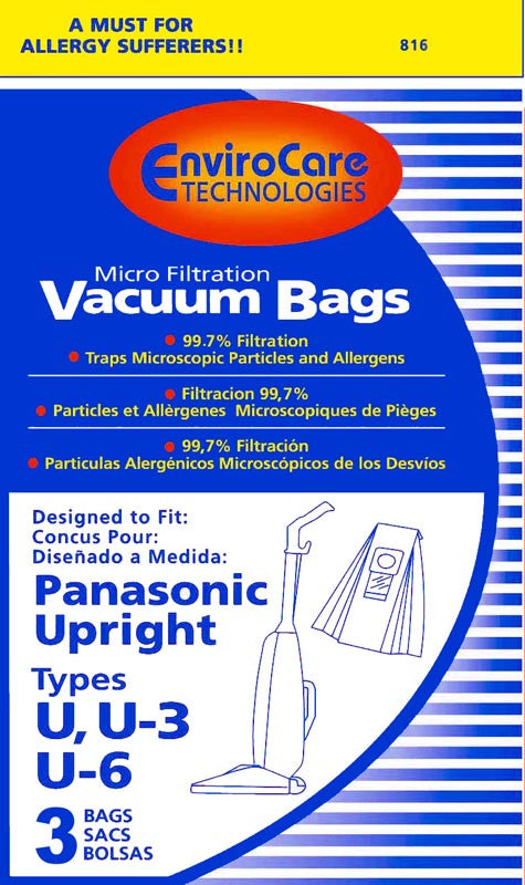 Panasonic Vacuum Bag Type U6