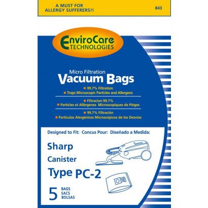 Shap PC-2 Canister Bags