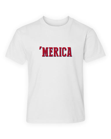 'Merica T-Shirt - Kids T-Shirt - Independence Day - July 4th - Toddler Shirt