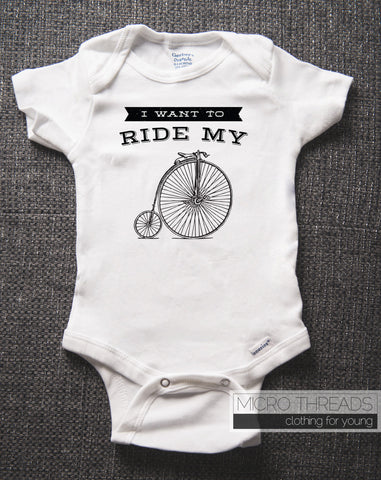 I Want To Ride My Bicycle Baby Bodysuit, Baby Shower Gifts, Queen Lyrics