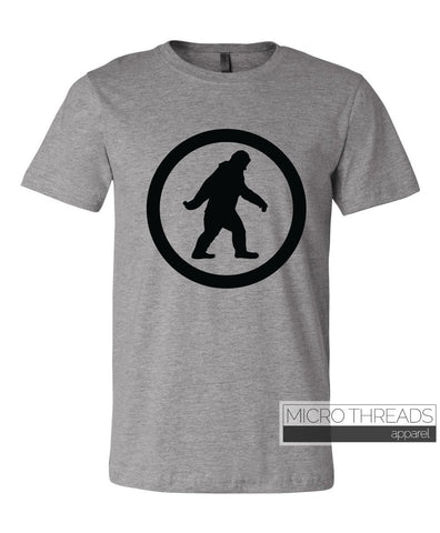 Big Foot or Sasquatch - Unisex Hunting T-Shirt Adult - Funny Fashion T Shirt
