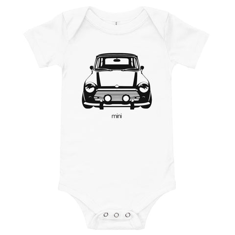 Mini Cooper - Baby Bodysuit for Cooper - Baby Shower Gifts
