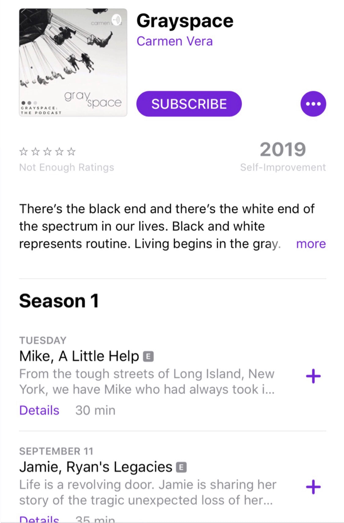We're available on Apple Podcasts!