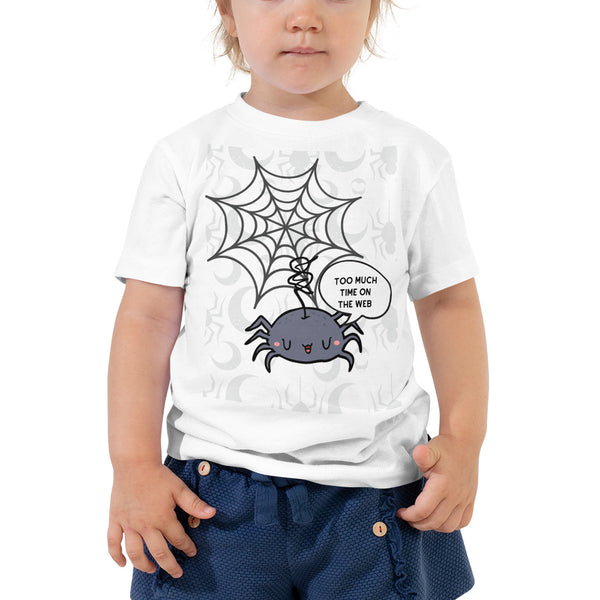 Web Toddler Short Sleeve Tee