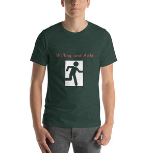 Willing and Able Unisex T-Shirt