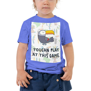 Toucan Play at this Game Toddler Short Sleeve Tee