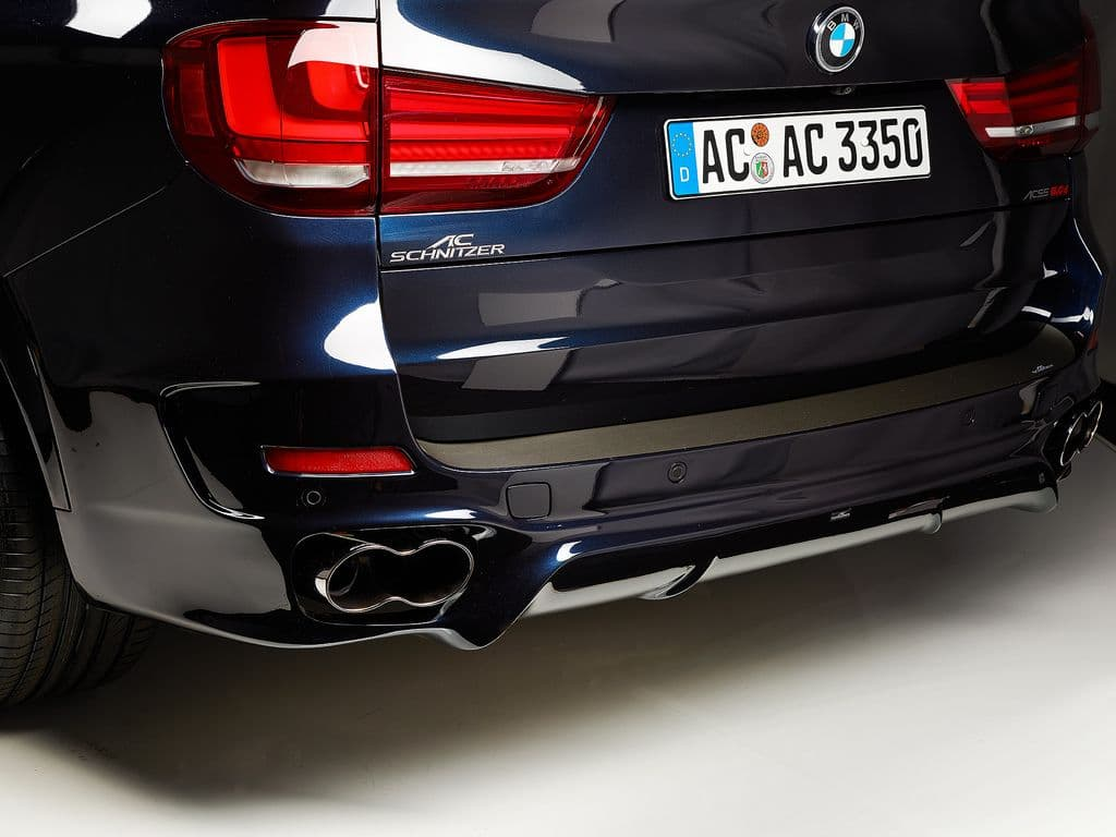 AC Schnitzer BMW F15 M Sport Exhaust Silencer with Racing Tailpipes (X5 30d, X5 35i & X5 40dx) - ML Performance UK