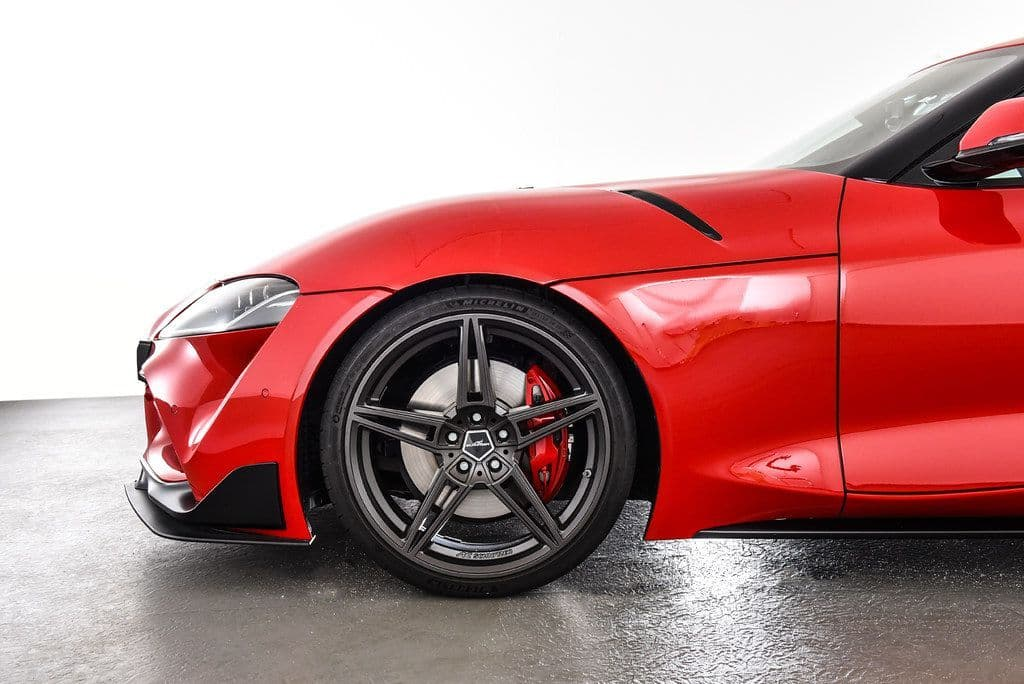 """AC Schnitzer Toyota A90 GR Supra 20"""" AC1 Anthracite Alloy Wheel Set With Tyres - ML Performance UK"""