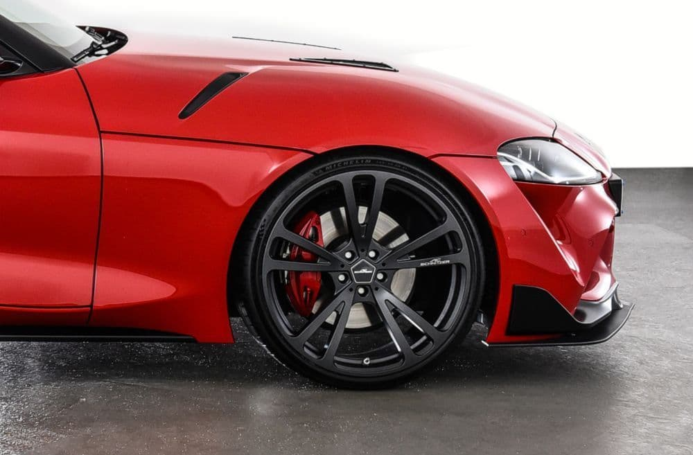 """AC Schnitzer Toyota A90 GR Supra 20"""" AC3 Flow Formed Anthracite Alloy Wheel Set With Tyres - ML Performance UK"""
